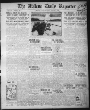Primary view of object titled 'The Abilene Daily Reporter (Abilene, Tex.), Vol. 33, No. 205, Ed. 1 Tuesday, August 3, 1920'.