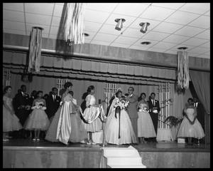 Primary view of object titled 'Crowning Queen Homecoming Night'.