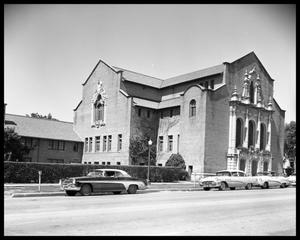 Primary view of object titled 'University Baptist Church'.