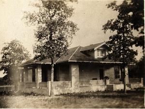 Primary view of object titled 'C. P. Schulze, Sr., Home in Irving, Texas'.