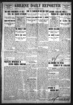 Primary view of object titled 'Abilene Daily Reporter (Abilene, Tex.), Vol. 12, No. 102, Ed. 1 Tuesday, November 19, 1907'.