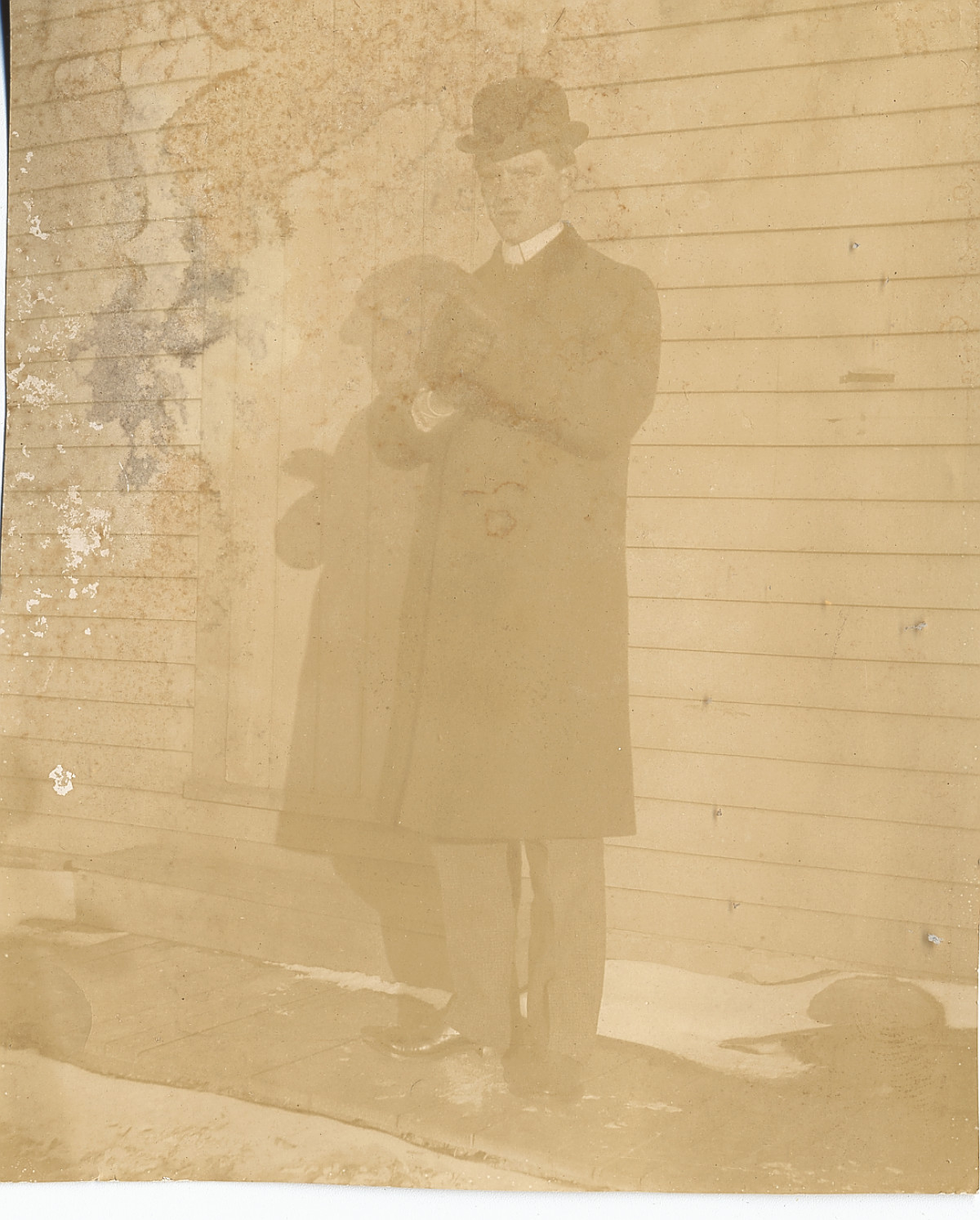 J. O. Schulze in Suit and Derby, c. 1904                                                                                                      [Sequence #]: 1 of 1