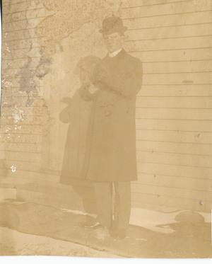 J. O. Schulze in Suit and Derby, c. 1904