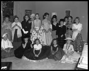 Primary view of object titled 'Children's dress up party'.