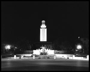 Primary view of object titled 'UT Austin Tower - night shots'.