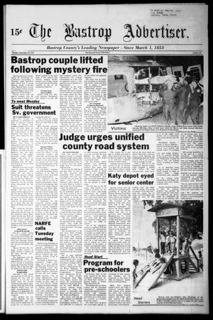 Primary view of object titled 'The Bastrop Advertiser (Bastrop, Tex.), Vol. [125], No. 60, Ed. 1 Monday, September 25, 1978'.