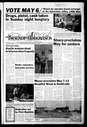 Primary view of object titled 'Bastrop Advertiser (Bastrop, Tex.), Vol. [125], No. 19, Ed. 1 Thursday, May 4, 1978'.