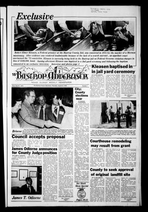 Primary view of object titled 'Bastrop Advertiser (Bastrop, Tex.), Vol. [125], No. 7, Ed. 1 Thursday, March 23, 1978'.