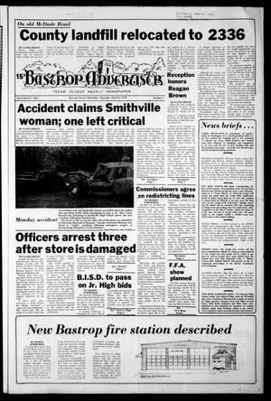 Primary view of object titled 'Bastrop Advertiser (Bastrop, Tex.), Vol. [125], No. 3, Ed. 1 Thursday, March 9, 1978'.