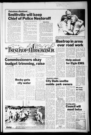 Primary view of object titled 'Bastrop Advertiser (Bastrop, Tex.), Vol. [125], No. 49, Ed. 1 Thursday, August 17, 1978'.