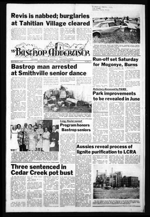 Primary view of object titled 'Bastrop Advertiser (Bastrop, Tex.), Vol. [125], No. 27, Ed. 1 Thursday, June 1, 1978'.