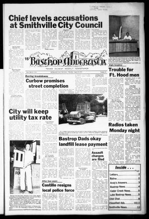 Primary view of object titled 'Bastrop Advertiser (Bastrop, Tex.), Vol. [125], No. 51, Ed. 1 Thursday, August 24, 1978'.