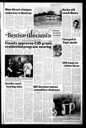 Primary view of object titled 'Bastrop Advertiser (Bastrop, Tex.), Vol. [125], No. 21, Ed. 1 Thursday, May 11, 1978'.