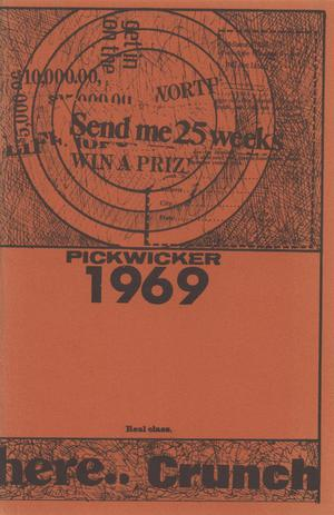 Primary view of object titled 'The Pickwicker, 1969'.