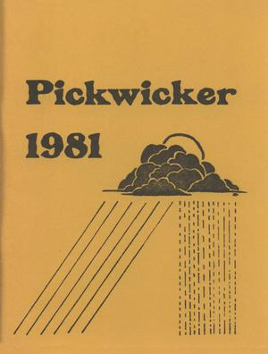 Primary view of object titled 'The Pickwicker, 1981'.