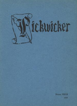 Primary view of object titled 'The Pickwicker, Volume 17, 1949'.