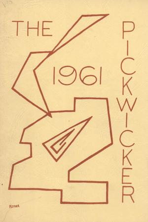 Primary view of object titled 'The Pickwicker, 1961'.