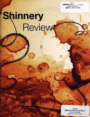 Primary view of object titled 'The Shinnery Review, Spring 2009'.