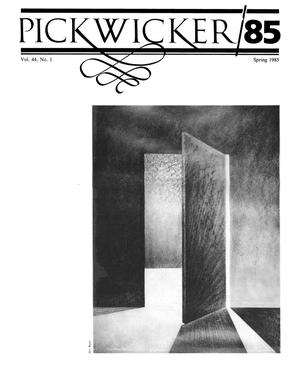 Primary view of object titled 'The Pickwicker, Volume 44, Number 1, Spring 1985'.