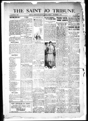 The Saint Jo Tribune (Saint Jo, Tex.), Vol. 28, No. 51, Ed. 1 Friday, November 5, 1926