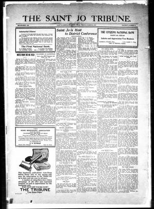 Primary view of object titled 'The Saint Jo Tribune (Saint Jo, Tex.), Vol. [29], No. 19, Ed. 1 Friday, March 25, 1927'.