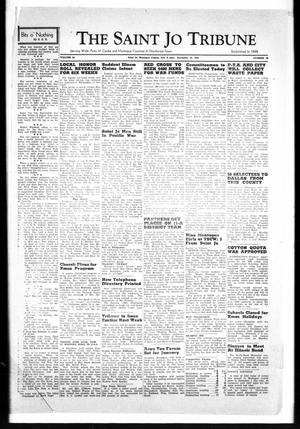 Primary view of object titled 'The Saint Jo Tribune (Saint Jo, Tex.), Vol. 44, No. 28, Ed. 1 Friday, December 19, 1941'.