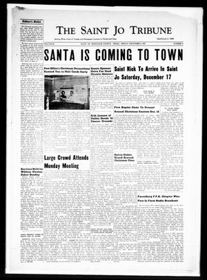 Primary view of object titled 'The Saint Jo Tribune (Saint Jo, Tex.), Vol. 63, No. 2, Ed. 1 Friday, December 9, 1960'.