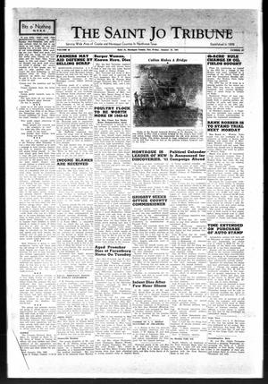 Primary view of object titled 'The Saint Jo Tribune (Saint Jo, Tex.), Vol. 44, No. 32, Ed. 1 Friday, January 23, 1942'.