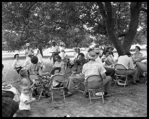Primary view of object titled 'Shorthorn Bar-B-Q group shots'.