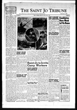 Primary view of object titled 'The Saint Jo Tribune (Saint Jo, Tex.), Vol. 44, No. 51, Ed. 1 Friday, June 5, 1942'.