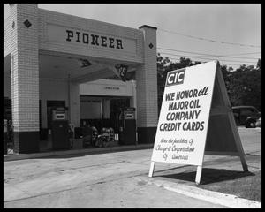 Primary view of object titled 'Pioneer Service Station'.