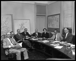 Primary view of object titled 'Board Room Meeting'.