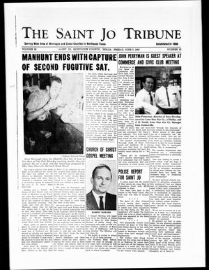 Primary view of object titled 'The Saint Jo Tribune (Saint Jo, Tex.), Vol. 65, No. 28, Ed. 1 Friday, June 7, 1963'.