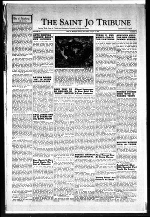 Primary view of The Saint Jo Tribune (Saint Jo, Tex.), Vol. 45, No. 8, Ed. 1 Friday, August 7, 1942