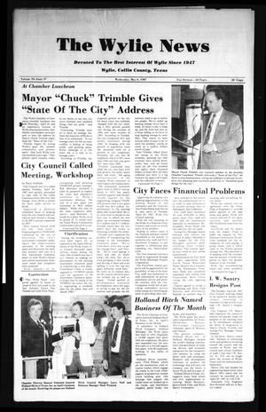 Primary view of object titled 'The Wylie News (Wylie, Tex.), Vol. 39, No. 47, Ed. 1 Wednesday, May 6, 1987'.