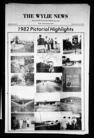 Primary view of object titled 'The Wylie News (Wylie, Tex.), Vol. 35, No. 29, Ed. 1 Thursday, January 6, 1983'.