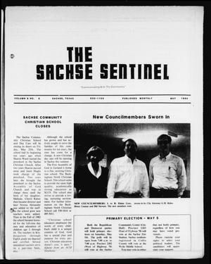 Primary view of object titled 'The Sachse Sentinel (Sachse, Tex.), Vol. 9, No. 5, Ed. 1 Tuesday, May 1, 1984'.
