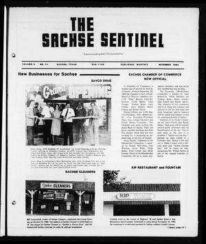 Primary view of object titled 'The Sachse Sentinel (Sachse, Tex.), Vol. 9, No. 11, Ed. 1 Thursday, November 1, 1984'.