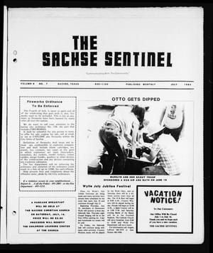 Primary view of object titled 'The Sachse Sentinel (Sachse, Tex.), Vol. 9, No. 7, Ed. 1 Sunday, July 1, 1984'.