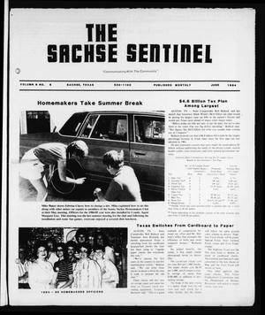 Primary view of object titled 'The Sachse Sentinel (Sachse, Tex.), Vol. 9, No. 6, Ed. 1 Friday, June 1, 1984'.