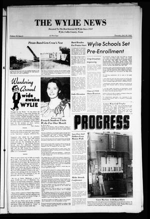 Primary view of object titled 'The Wylie News (Wylie, Tex.), Vol. 36, No. 6, Ed. 1 Thursday, July 28, 1983'.
