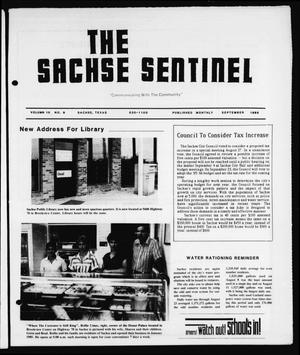 Primary view of object titled 'The Sachse Sentinel (Sachse, Tex.), Vol. 10, No. 9, Ed. 1 Sunday, September 1, 1985'.