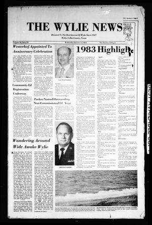 The Wylie News (Wylie, Tex.), Vol. 36, No. 29, Ed. 1 Wednesday, January 4, 1984
