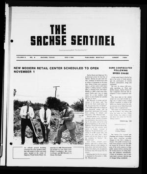 The Sachse Sentinel (Sachse, Tex.), Vol. 9, No. 8, Ed. 1 Wednesday, August 1, 1984