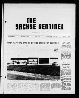 Primary view of object titled 'The Sachse Sentinel (Sachse, Tex.), Vol. 9, No. 3, Ed. 1 Thursday, March 1, 1984'.