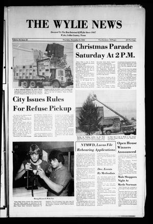 Primary view of object titled 'The Wylie News (Wylie, Tex.), Vol. 36, No. 25, Ed. 1 Thursday, December 8, 1983'.