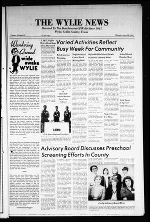 Primary view of object titled 'The Wylie News (Wylie, Tex.), Vol. 35, No. 45, Ed. 1 Thursday, April 28, 1983'.
