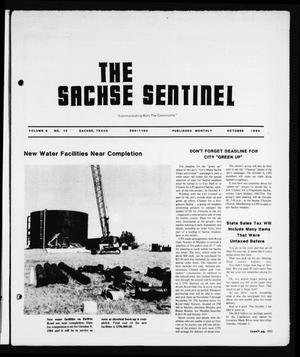 Primary view of object titled 'The Sachse Sentinel (Sachse, Tex.), Vol. 9, No. 10, Ed. 1 Monday, October 1, 1984'.