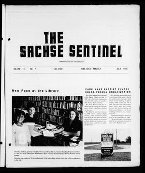 Primary view of object titled 'The Sachse Sentinel (Sachse, Tex.), Vol. 11, No. 7, Ed. 1 Tuesday, July 1, 1986'.