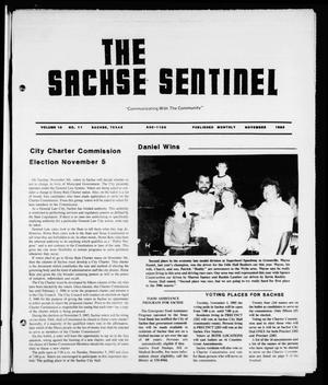 Primary view of object titled 'The Sachse Sentinel (Sachse, Tex.), Vol. 10, No. 11, Ed. 1 Friday, November 1, 1985'.